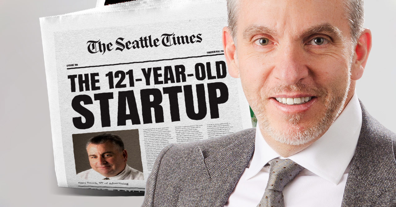 108: Print Isn't Dead at the Seattle Times (The 121-Year-Old Startup)